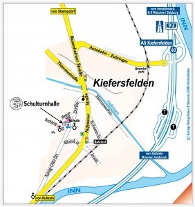 Ortsplan von 83088 Kiefersfelden (KVH)